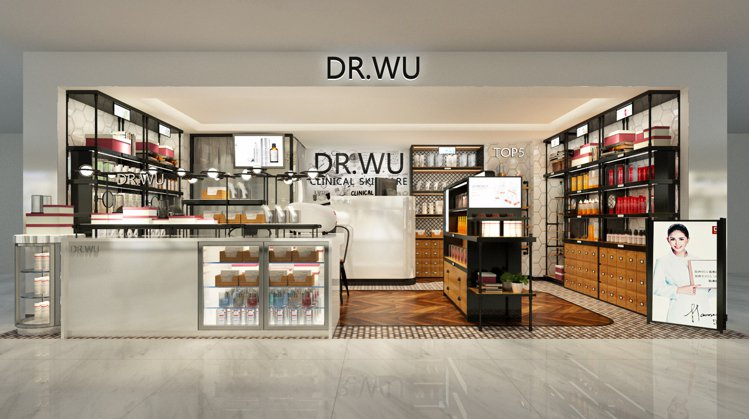 DR.WU推出2.0版全新風格店,以木質結合鐵的輕工業風打造遠東百貨寶慶店,吸引...