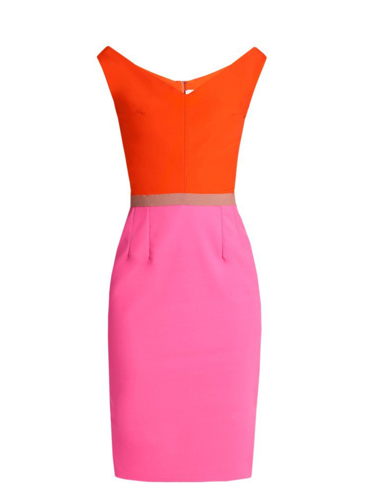Emilio de la Morena拼色連衣裙 參考價格:5,950CNY