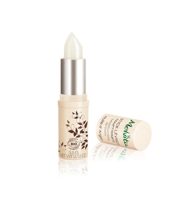 Melvita黃金堅果油潤澤護唇膏,3.5g/380元。圖/Melvita提供
