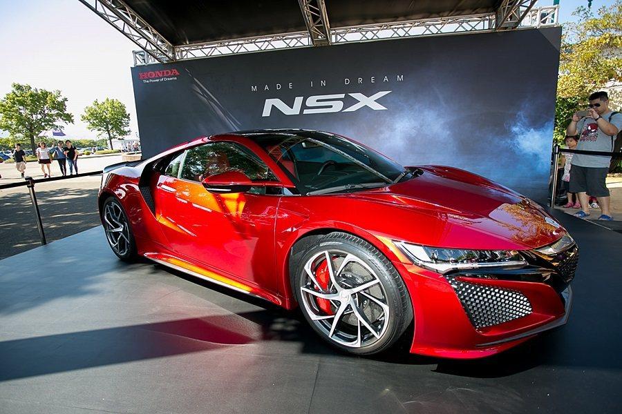 現場也展示NSX。 Honda提供
