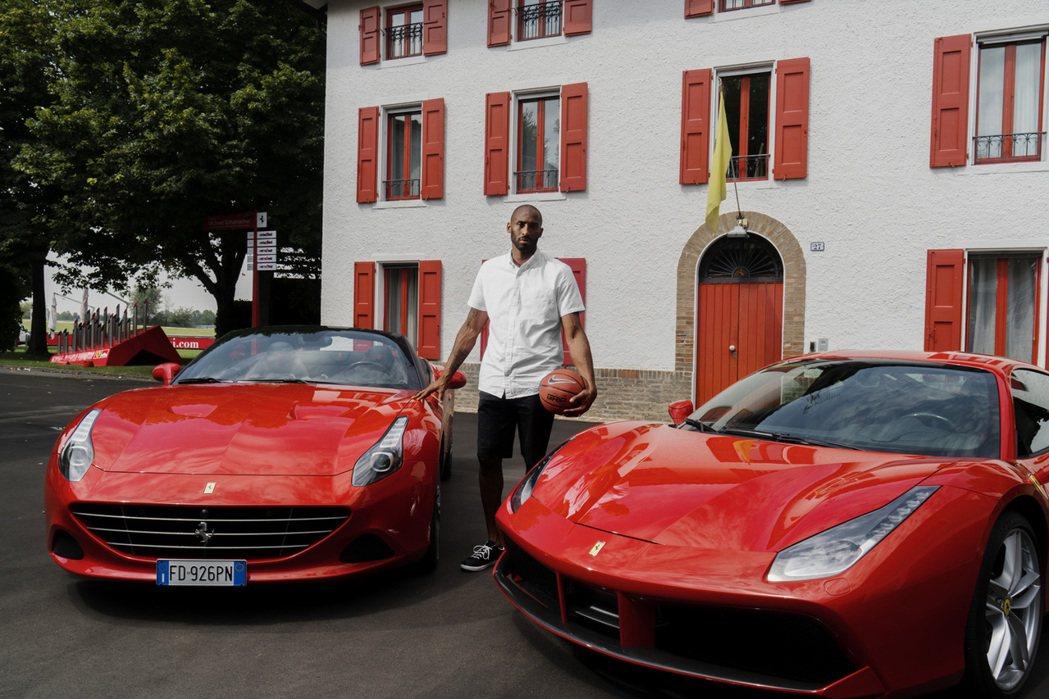 知名NBA退休球星Kobe Bryant最近到Ferrari總部參訪。 摘自c...