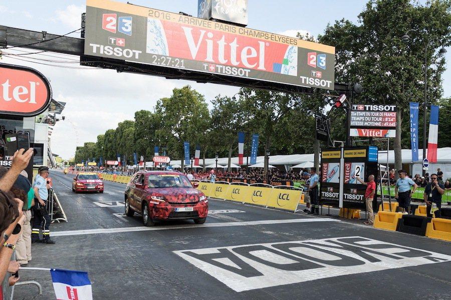 Skoda Kodiaq是今年環法自由車賽的宣傳車。 Skoda提供