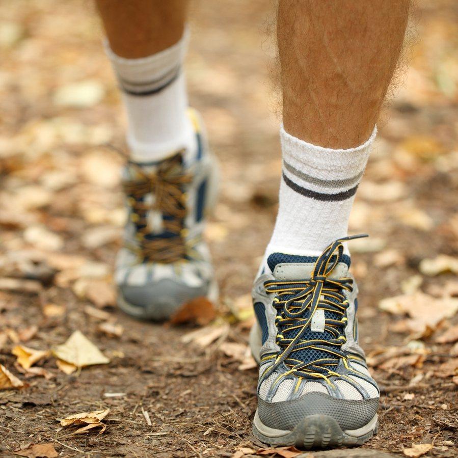 腳出汗造成的溼熱,會產生腳臭。此為示意圖。圖/ingimage