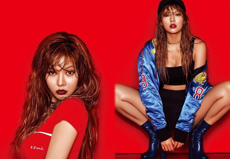 圖/擷自HyunA粉絲專頁