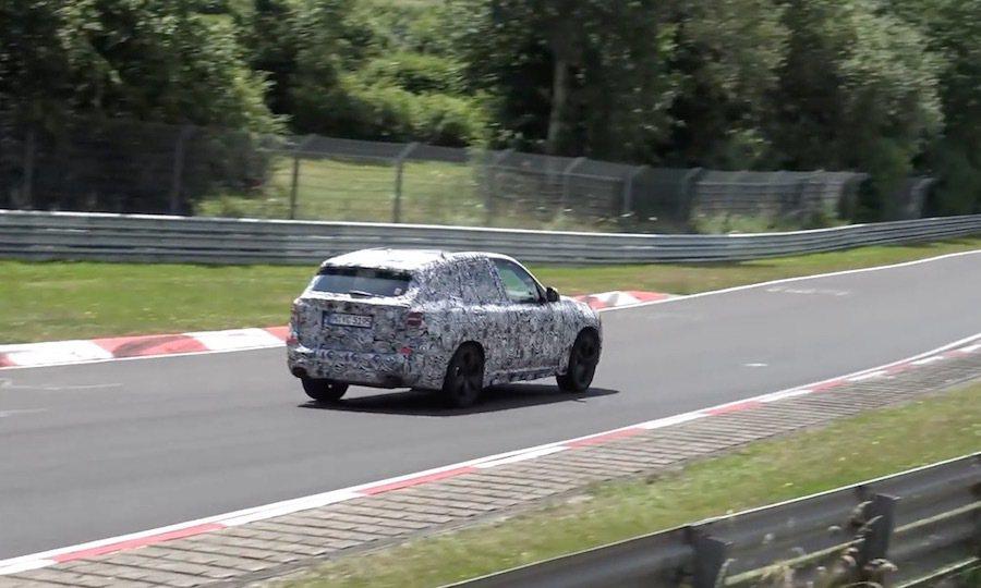 全新X3車系將會在2017年發表。 截自Auotmotive Mike影片