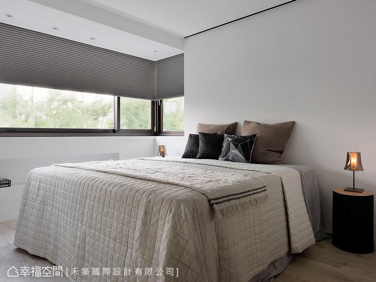 ▲主臥室:充分把握陽光、綠意環繞的地理優勢,讓每一間臥房都能享有自然擁抱的溫度。