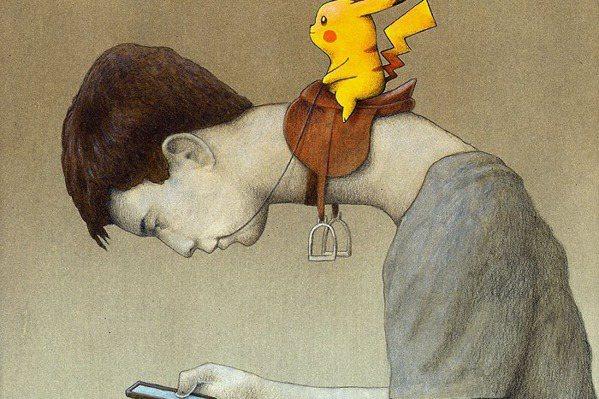 別讓Pokémon GO玩了!這張警世畫嚇壞一票人…