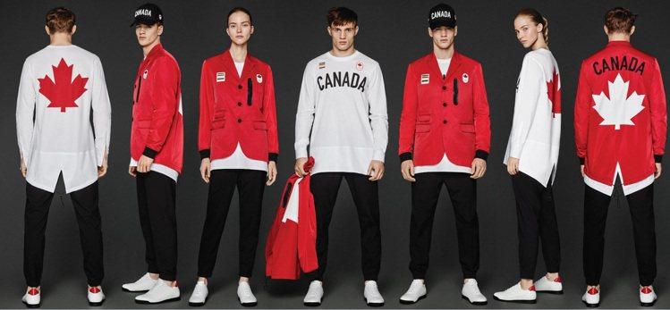 Canada加拿大—Dsquared2  加拿大體育代表團選擇的戰袍設計...
