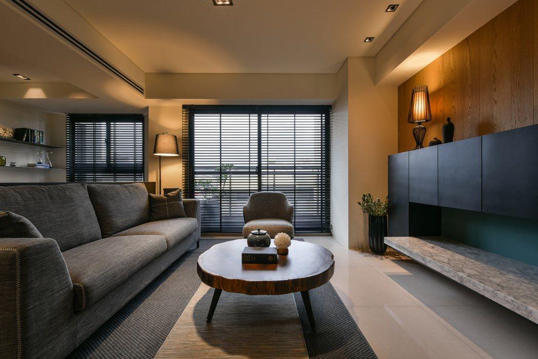 39坪規劃三房,客廳面寬3米6。 圖片提供/宏碁建設
