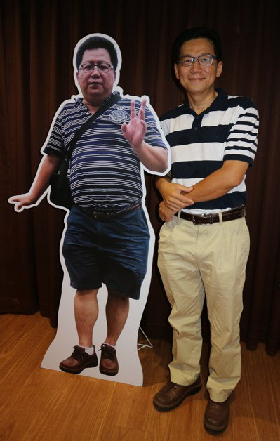 原本破百公斤的王姓男子,經過胃繞道手術後,體重大幅下降只剩68.5公斤。記者陳雨...