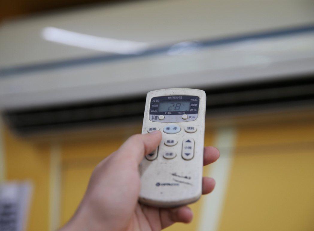 在冷氣房也中暑 中醫教消暑祕訣 聯合報系資料照 記者楊萬雲/攝影