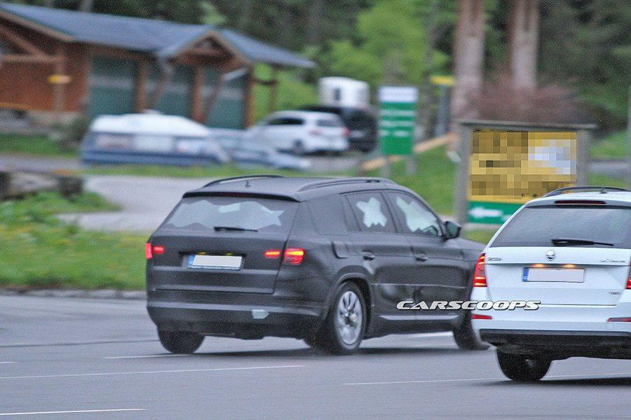 Skoda Kodiaq大型休旅車 摘自carscoops.com