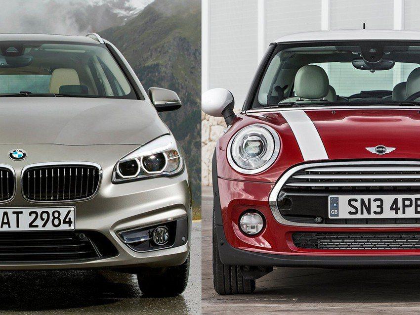 這次我們為大家帶來同集團的BMW 218i Active Tourer與Mini...