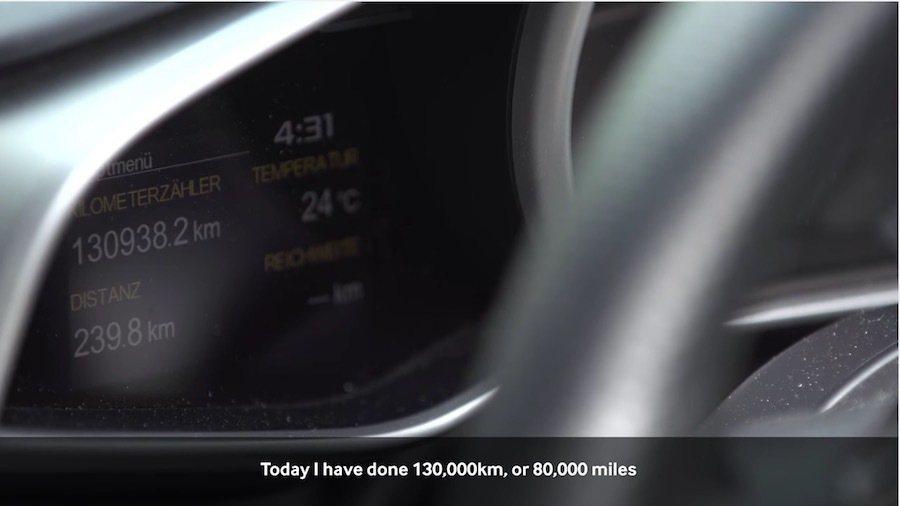 一輛McLaren 12C Spider已經行駛了超過13萬公里。 截自McLa...