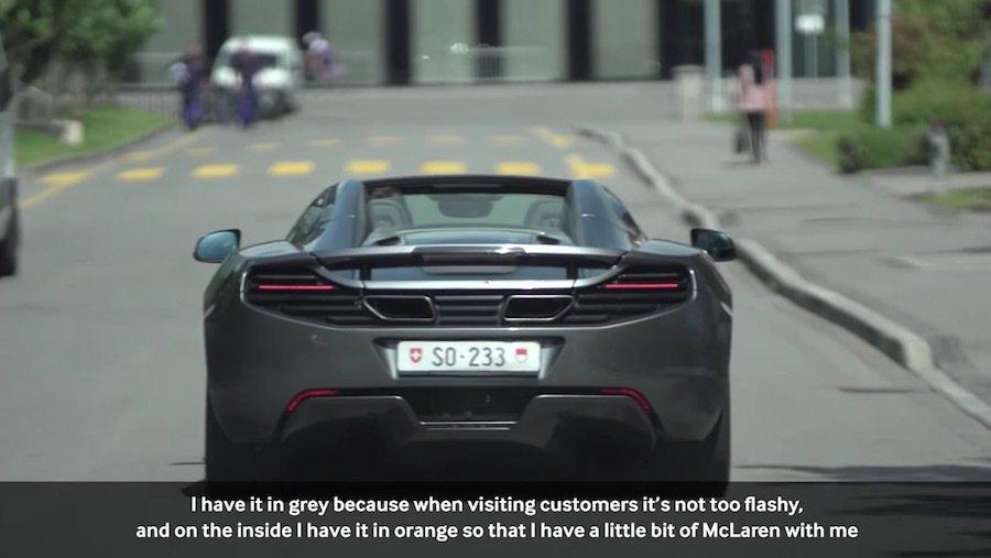 這輛超跑據說已創下McLaren所售出產品的最高里程數。 截自McLaren ...