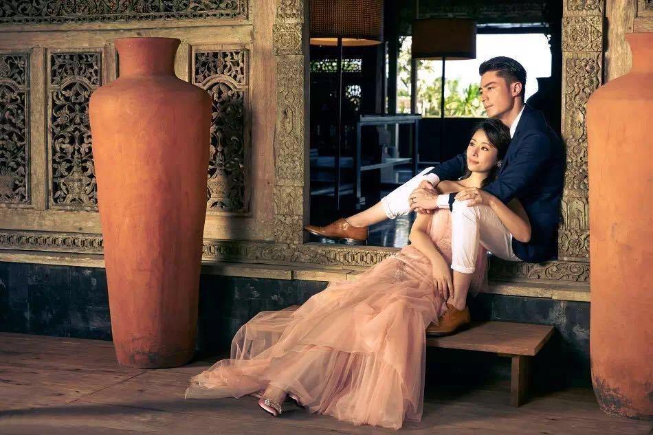 林心如與霍建華的婚禮,當時備受各界關注。圖/Roger Vivier提供
