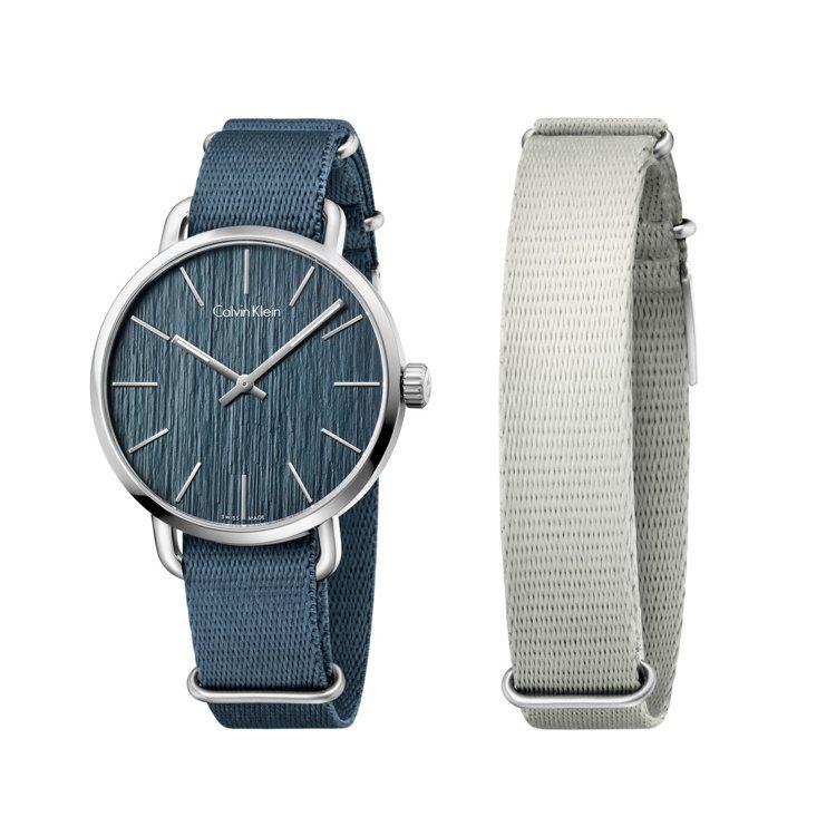 Calvin Klein watches+jewelry evan超然系列(帆布...