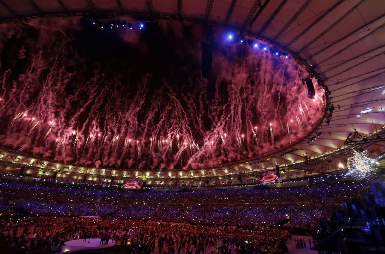 2016里約奧運開幕式。 圖/美聯社