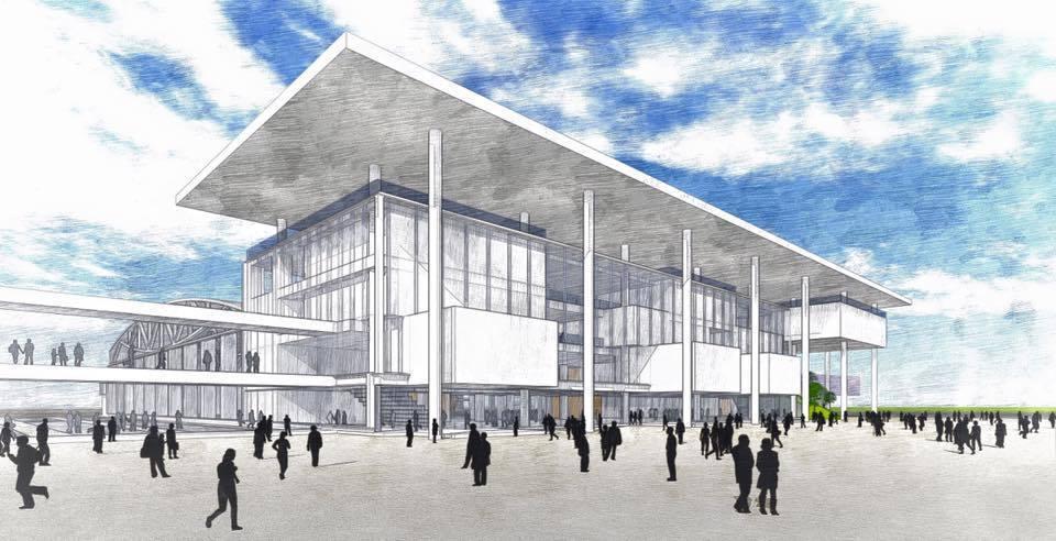 新建的「大台南市會展中心」,將定位為綠色智慧展覽館,未來並將成為沙崙創新基地的一...