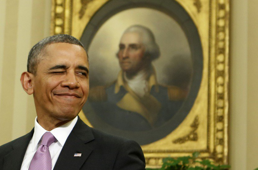 華盛頓的鬼魂據說會在黃色橢圓廳拉小提琴。 圖/路透社