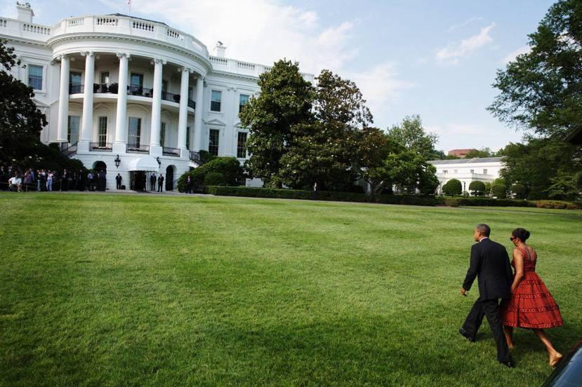 通往白宮的路,其實是一場通靈王大戰。 圖/白宮官網