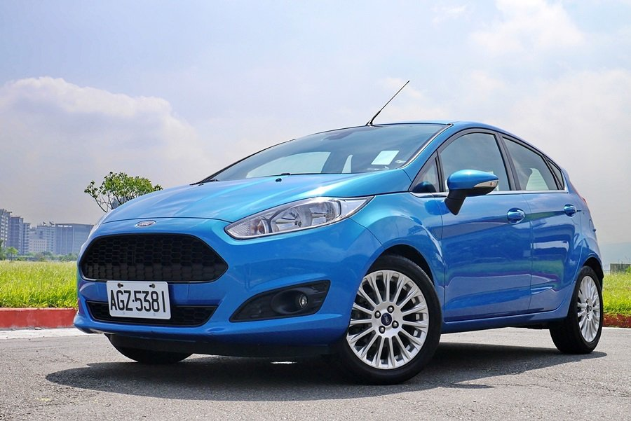 Ford Fiesta 1.0L Ecoboost。 記者陳威任攝