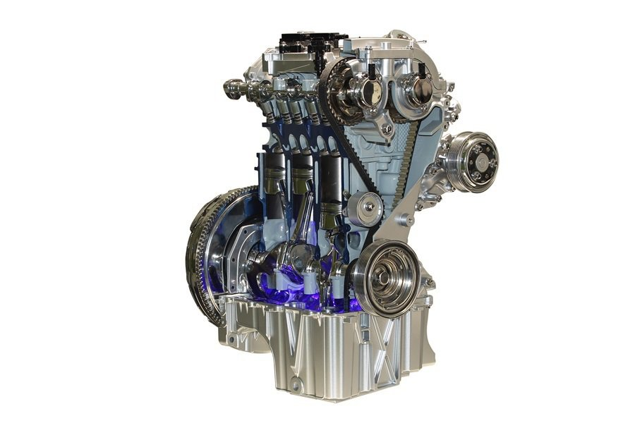 獲獎無數的Ford 1.0 EcoBoost引擎。 Ford提供