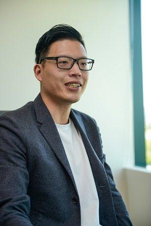 脫下金手套選擇創業,朱政道說即使失敗,在灣區創業都是很好的經驗。