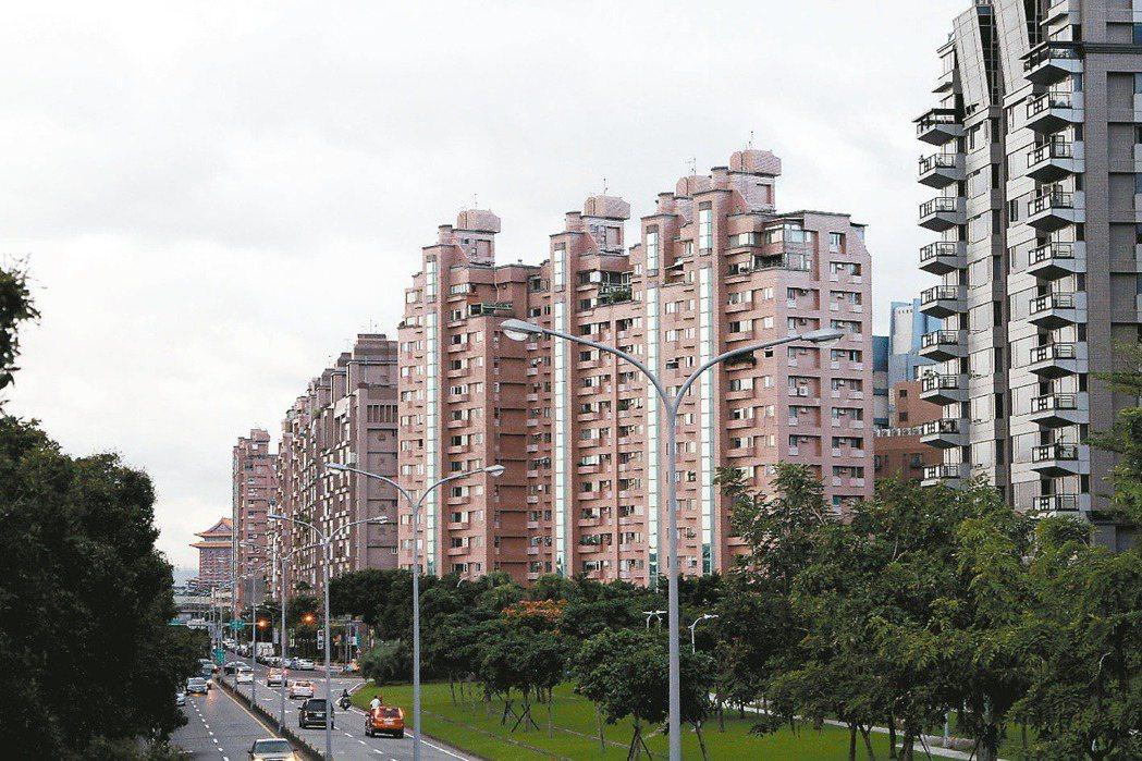 房屋稅將大幅調高,大直明水路部分路段率從130%調升至200%。