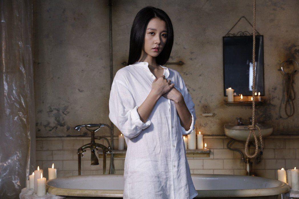 女主角邵雨薇過去多在偶像劇發展,此次在電影中有突破性的演出。 圖/安邁進提供