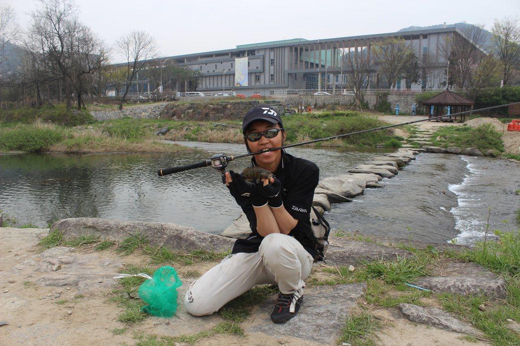 2015年攝於韓國全州市區的全州川,在環保組織KFEM長年倡議下,原本僅存排水溝...