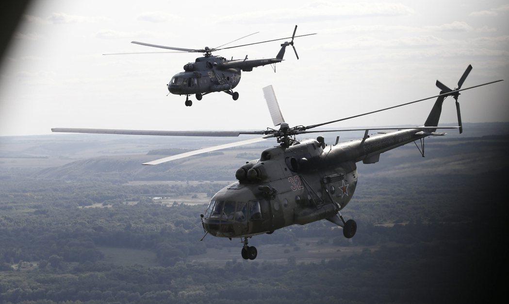 參與空襲的俄軍部隊。 圖/歐新社