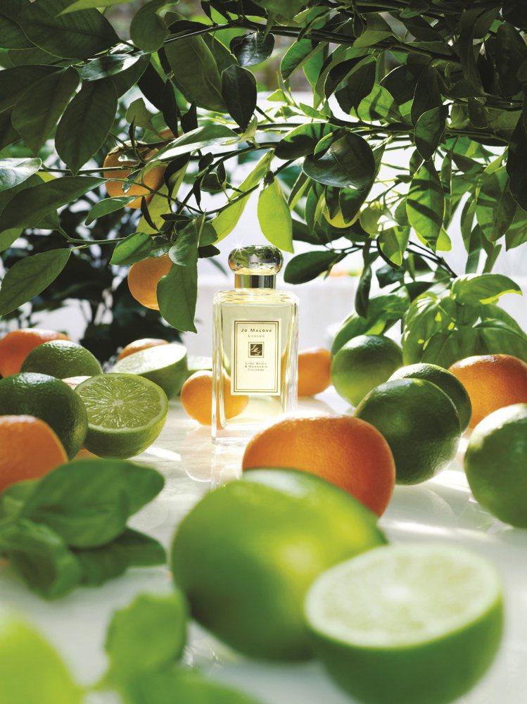 Jo Malone始終立不搖的經典香氣是青檸羅勒葉與柑橘,100ml/4,600...