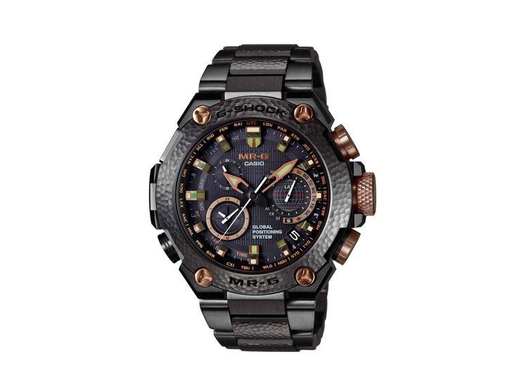 卡西歐全新G-SHOCK MRG-G1000HT-1A腕表,全球限量300只,台...