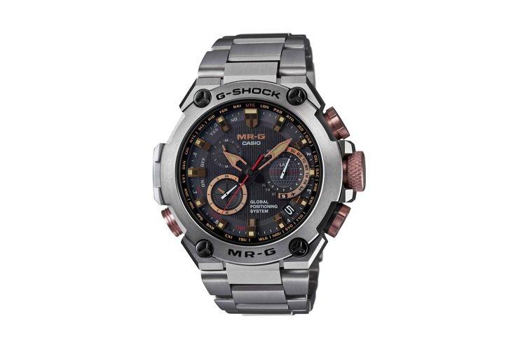 卡西歐全新G-SHOCK MRG-G1000DC-1A腕表,建議售價70,000...