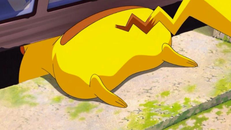 對你來說皮卡丘可能是超級小可愛,對我來說就只是一隻黃色的胖老鼠罷了。 圖/《精靈...
