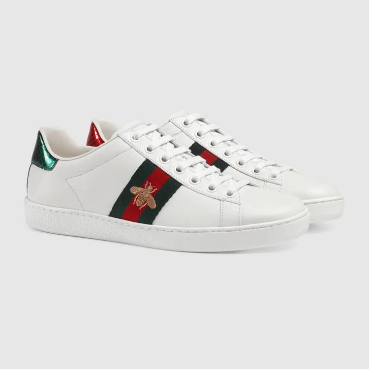 ACE 蜜蜂刺繡運動鞋,20,300元。圖/Gucci提供