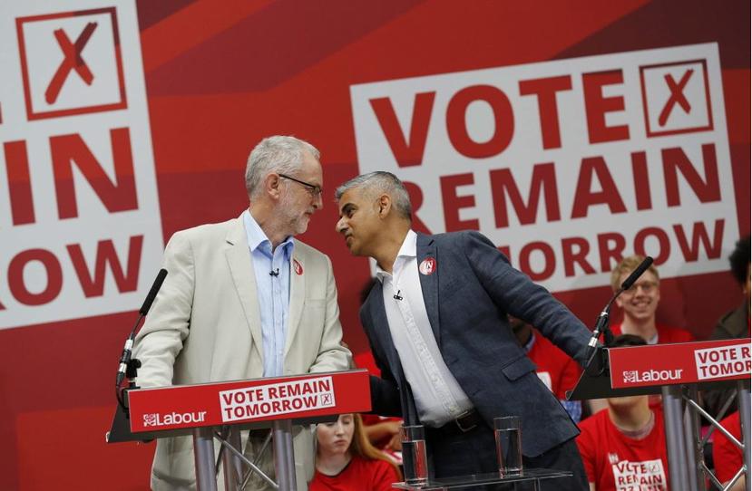 公投結果摔碎了大家的眼鏡,被指控「宣傳留歐不力」的柯賓,因此成了黨內布萊爾派系同...