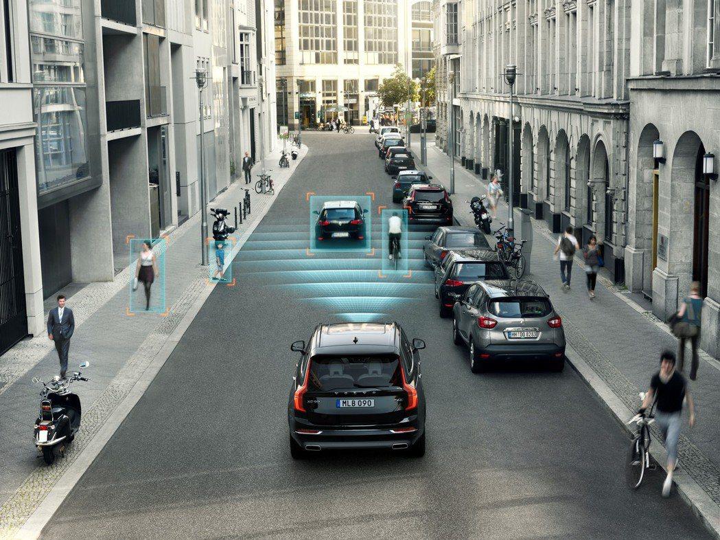 Volvo引以為傲的主被動安全配備,數量之多可說是獨步車壇。 圖/國際富豪汽車提...