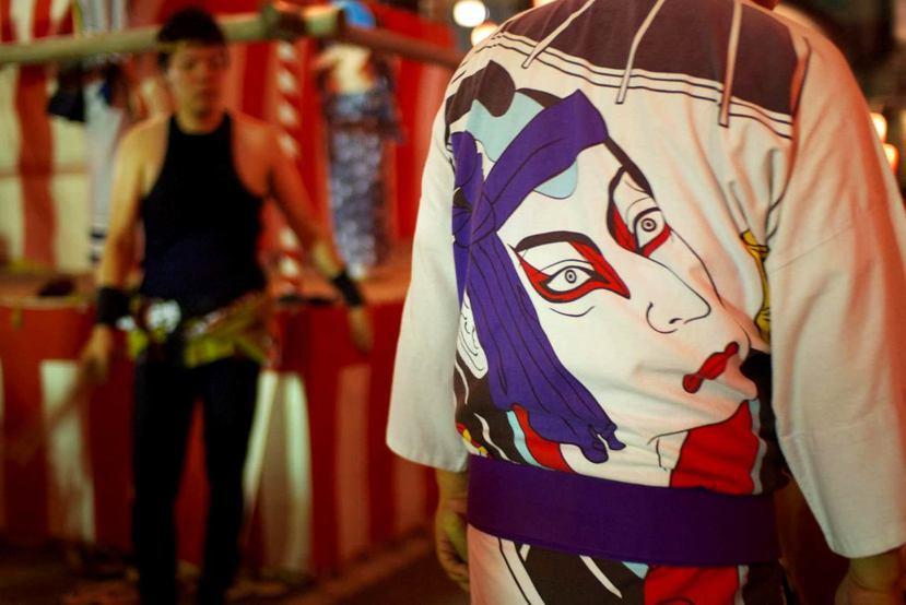 2012年築地本願寺納涼盆踊祭典大會。 photo credit:<a href...