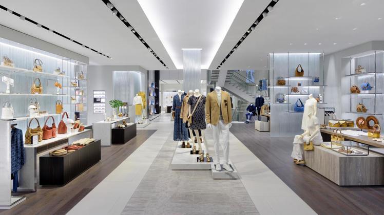 MICHAEL KORS在百大奢侈品牌表現強勁,居輕奢品牌之首。圖/MICHAE...