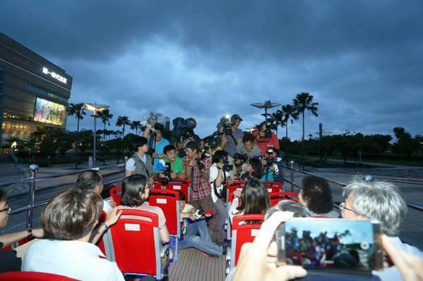 寶可夢迷們 高市雙層巴士移動路線上寶物滿滿!