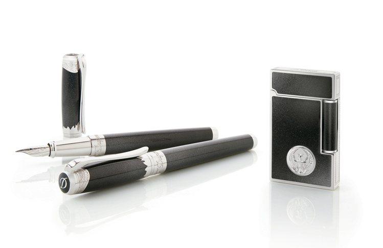 S.T. Dupont Lign 2筆具,鋼筆41,000元,鋼珠筆39,500...