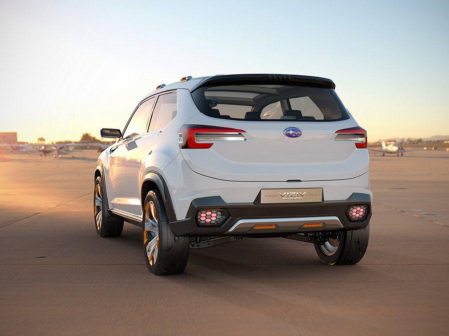 Subaru Viziv Future概念車。 摘自Subaru