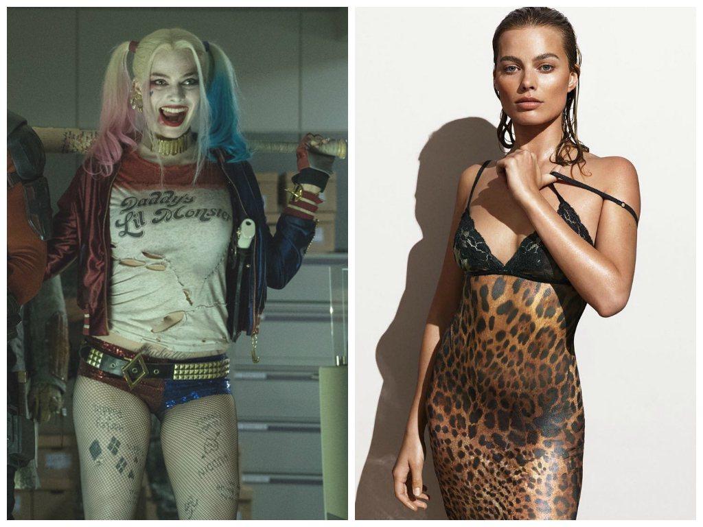 左圖擷自IMDb,右圖擷自瑪格羅比IG