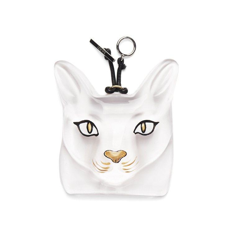 Loewe貓型項鍊,約17100元。圖/摘自Loewe網站