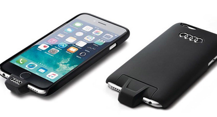 Audi推出iPhone專屬使用的無線充電手機殼。 Audi提供