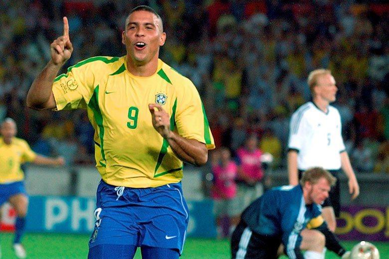 巴西傳奇足球巨星,綽號「外星人」的Ronaldo Luís Nazário de Lima。 圖/美聯社