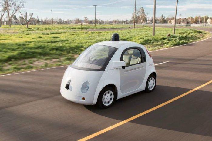 Google致力於自動駕駛車的研發。 摘自Google