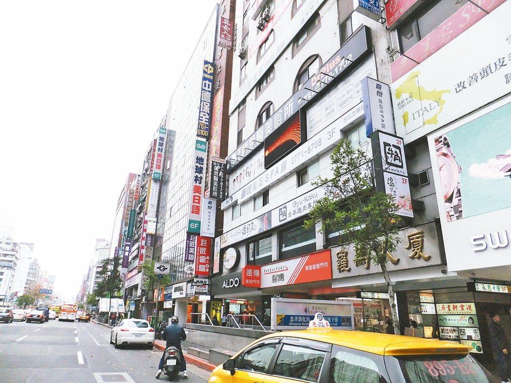 台北東區 記者游智文/攝影